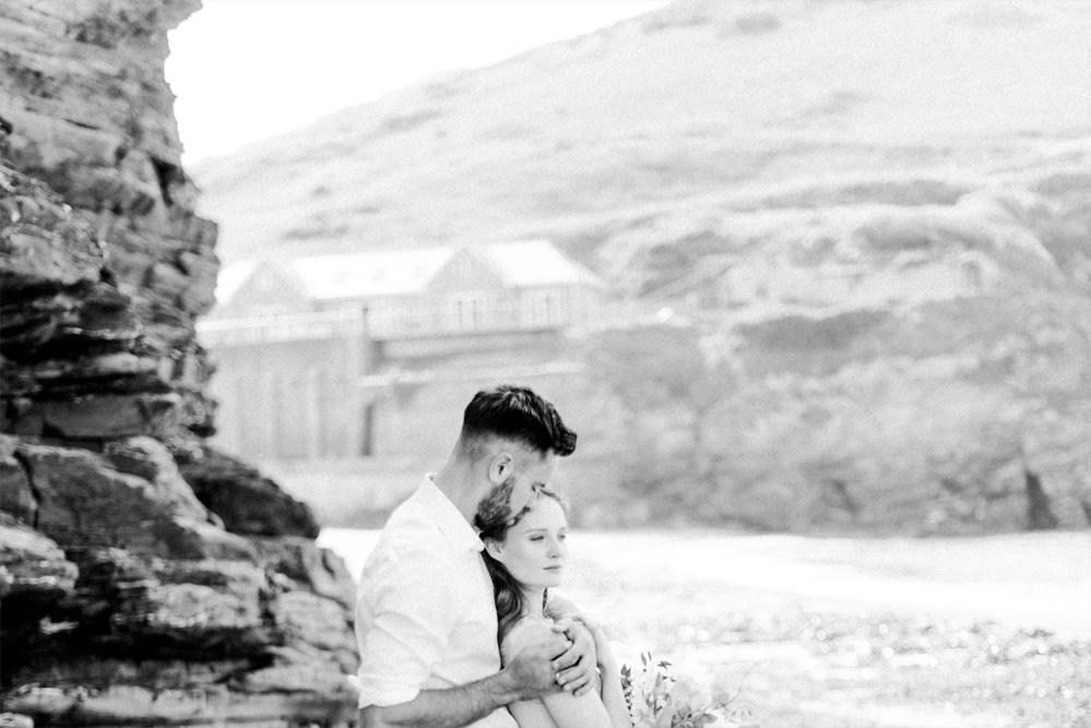 (12)_Elopement_Cornwall_heiraten_Ausland_blaues_brautkleid_blue_wedding_dress_individual_intimate_hochzeit